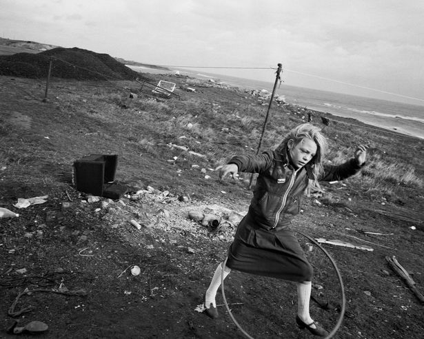 Helen and her Hula Hoop by Chris Killip