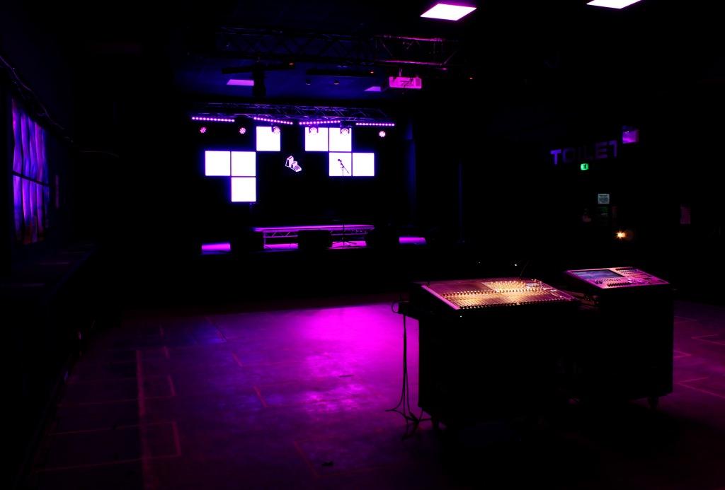 Interior of Future Yard venue