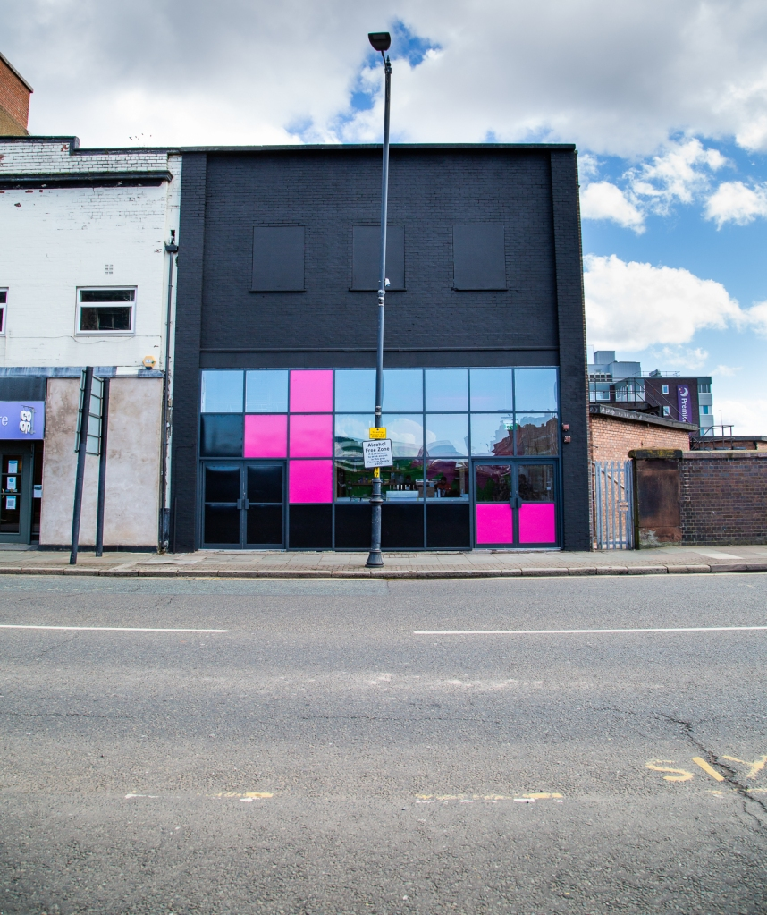 Exterior of Future Yard venue
